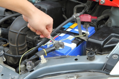 car repair car battery