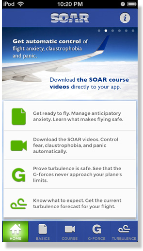 SOAR iPhone App Screenshot